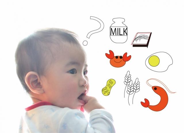 早期から卵を食べさせるとアレルギー発症頻度が下がる?