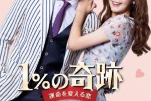 1%の奇跡 ~運命を変える恋~キャスト画像付きで相関図から登場人物を解説!